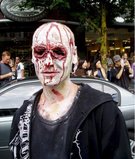 zombie gouged eyes