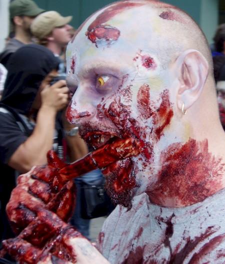 zombie yellow eyes