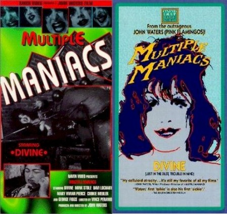 multiple maniacs posters