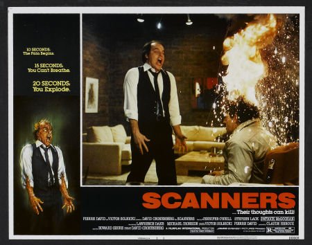 scanners lobby card