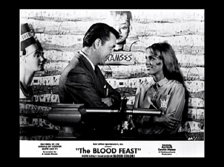 blood feast lobby card