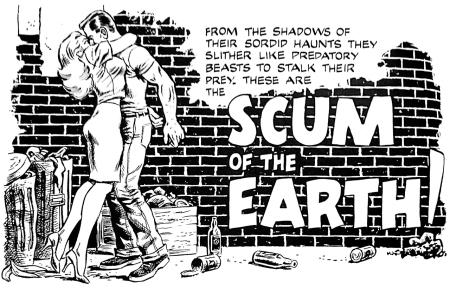 scum of the earth comic
