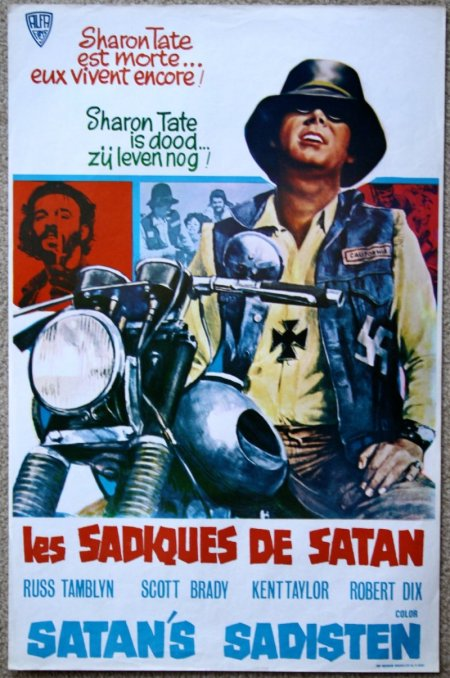 satan's sadists belgium movie poster